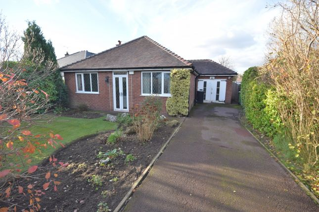 Thumbnail Detached bungalow for sale in Glenfield Drive, Poynton, Stockport