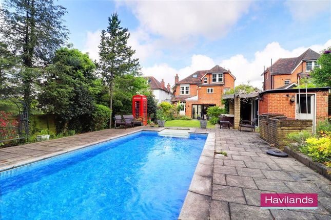 Thumbnail Detached house for sale in Old Park Ridings, Winchmore Hill, London