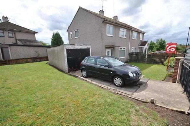 Thumbnail Semi-detached house for sale in Chestnut Avenue, New Rossington, Doncaster