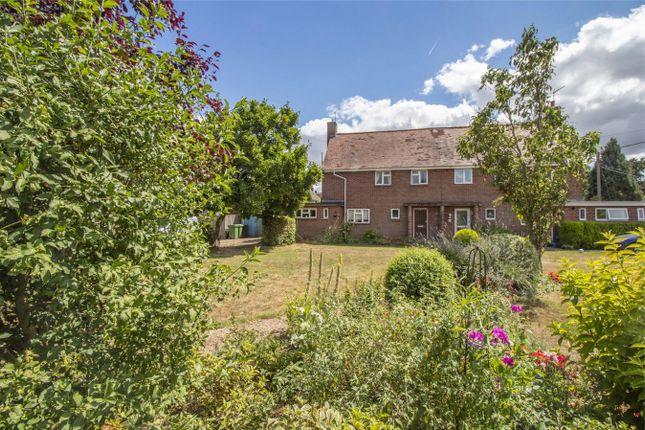 Thumbnail Semi-detached house for sale in Little Hoddington, Upton Grey, Basingstoke