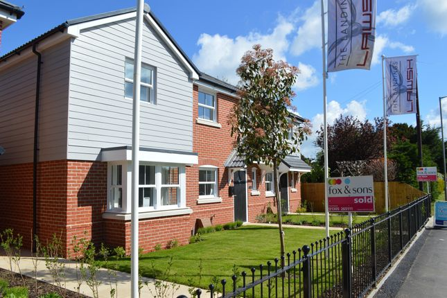 Thumbnail Semi-detached house for sale in Warmwell Road, Crossways, Dorchester