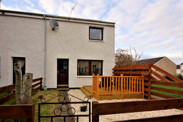 Thumbnail End terrace house for sale in Sutherland Crescent, Tain