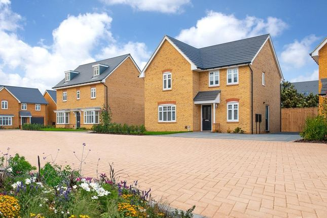 "Thumbnail Detached house for sale in ""Camberley"" at Southern Cross, Wixams, Bedford"