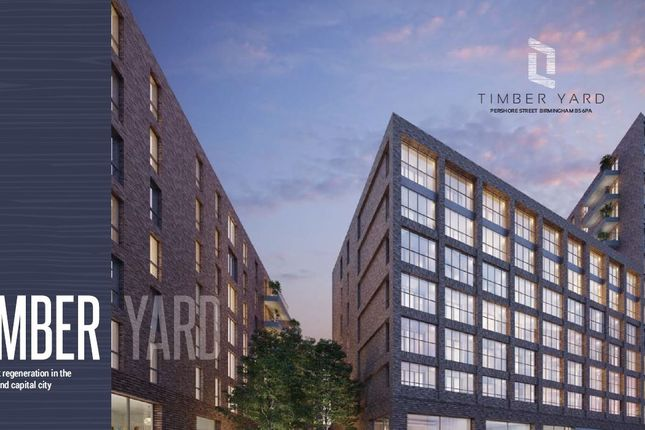 Thumbnail Flat for sale in Pershore Street, Birmingham