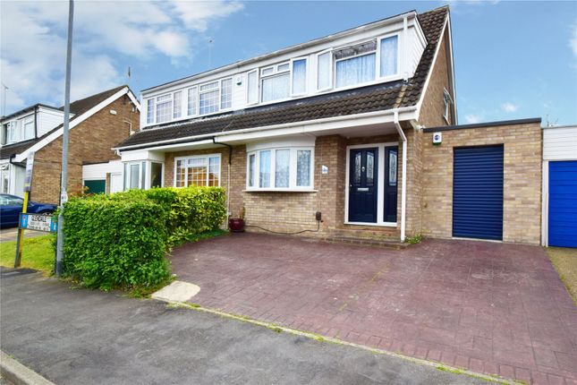 Thumbnail Semi-detached house for sale in Glendale, Swanley, Kent