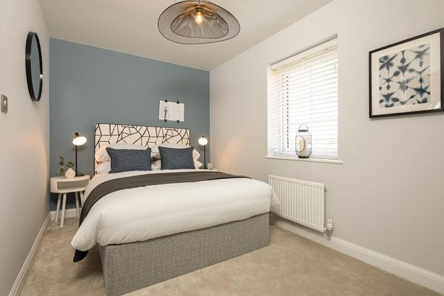 Internal Image Of The Second Double Bedroom In The Kenley Show Home At Birds Marsh View, Chippenham