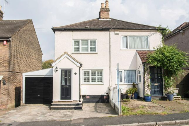 Thumbnail Semi-detached house for sale in Milton Road, Warley, Brentwood