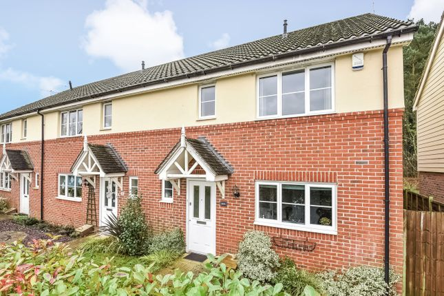 Thumbnail End terrace house to rent in Deer Way, Horsham