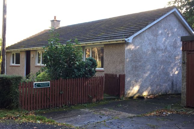 Thumbnail Detached bungalow to rent in Binsness, Forres