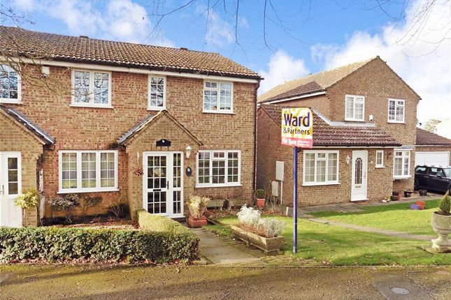 Thumbnail End terrace house for sale in Harvest Ridge, Leybourne, West Malling, Kent