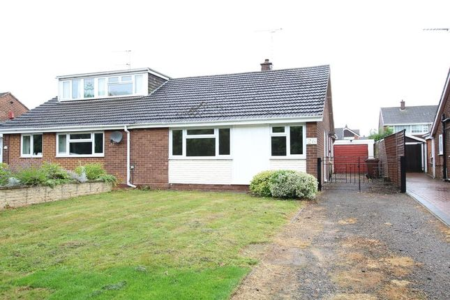 Thumbnail Semi-detached bungalow to rent in Bladon View, Stretton, Burton-On-Trent