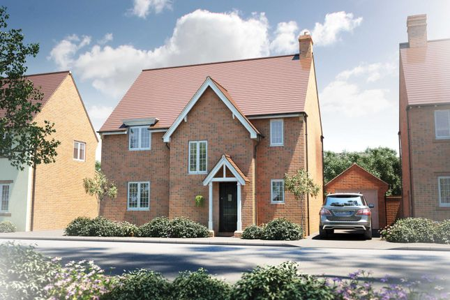 "Thumbnail Detached house for sale in ""The Wakehurst"" at Roman Road, Bobblestock, Hereford"