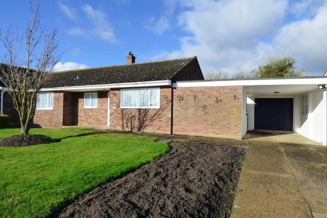 Thumbnail Semi-detached bungalow for sale in Tabernacle Lane, Forncett St. Peter, Norwich