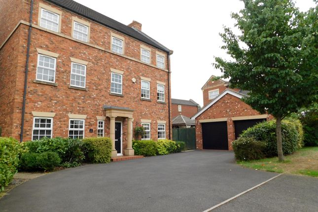 Thumbnail Detached house to rent in Burgess Close, Stapeley, Nantwich