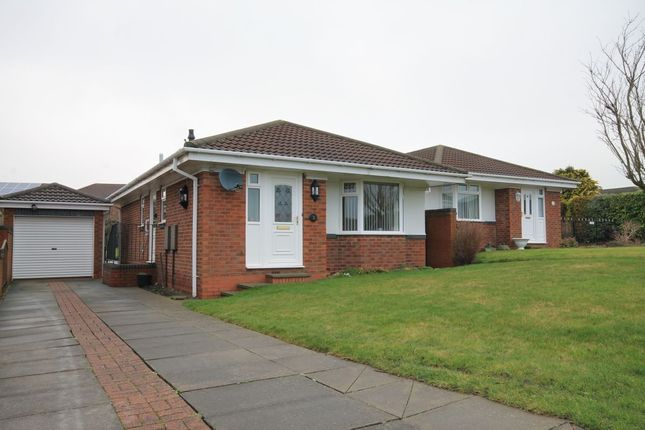 Thumbnail Bungalow for sale in Flodden Close, Chester Le Street
