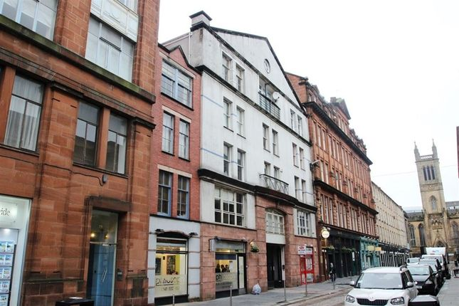 Thumbnail Flat to rent in Candleriggs, Glasgow