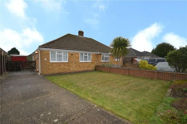 Thumbnail Semi-detached bungalow for sale in Shipton Way, Basingstoke, Hampshire