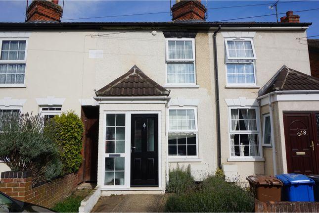 Thumbnail Terraced house for sale in Nottidge Road, Ipswich
