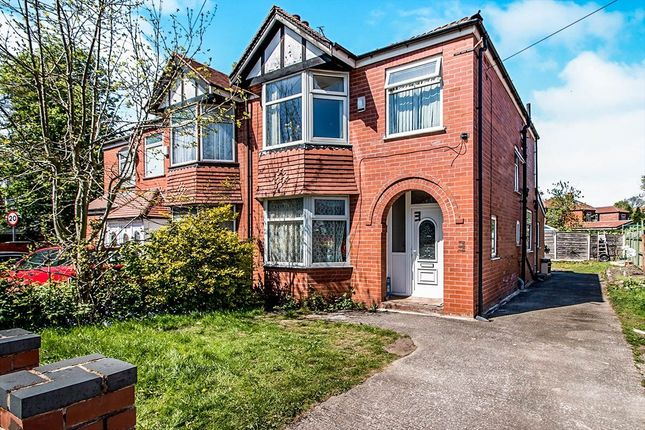 Thumbnail Semi-detached house for sale in Kent Road West, Victoria Park, Manchester