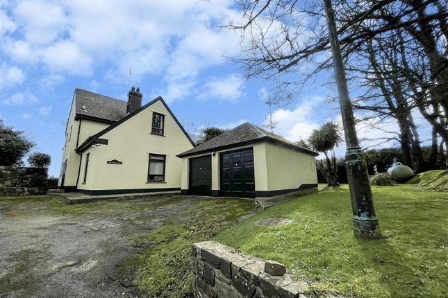 Thumbnail Detached house for sale in Church Road, Burton, Milford Haven