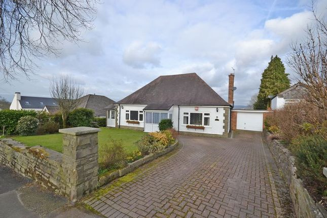 Thumbnail Detached bungalow for sale in Exceptional Dormer Bungalow, Ridgeway, Newport