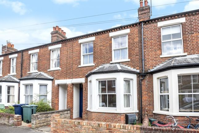 Thumbnail Terraced house for sale in West Oxford City, Oxford