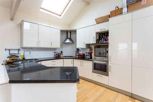 Vaulted Kitchen Area