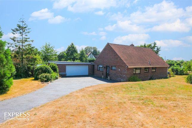 Thumbnail Detached bungalow for sale in Moor Road, Sutton Mallet, Bridgwater, Somerset