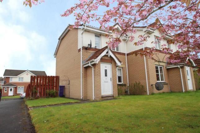 Thumbnail End terrace house for sale in Springhill Farm Road, Baillieston, Glasgow, Lanarkshire