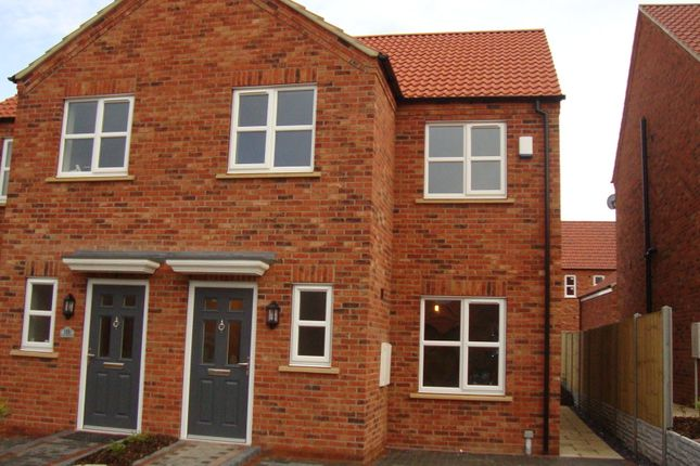 Thumbnail Semi-detached house to rent in Apple Tree Lane, Laceby