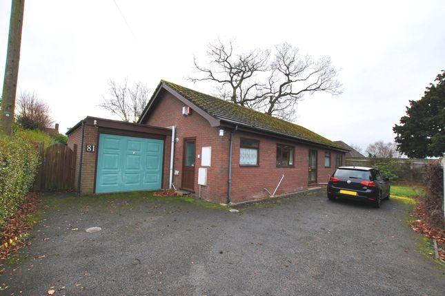 Thumbnail Detached bungalow for sale in Haygate Road, Wellington, Telford, Shropshire
