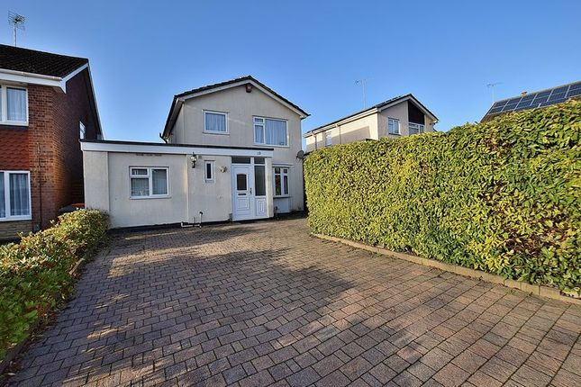 Thumbnail Detached house to rent in Carlisle Close, Dunstable