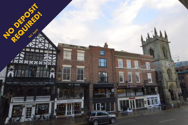Thumbnail Flat to rent in Bridge Street Row East, Chester