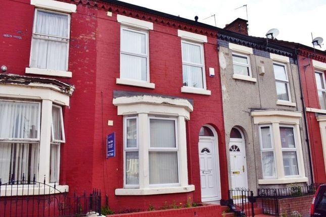Thumbnail Terraced house for sale in Bradfield Street, Kensington, Liverpool