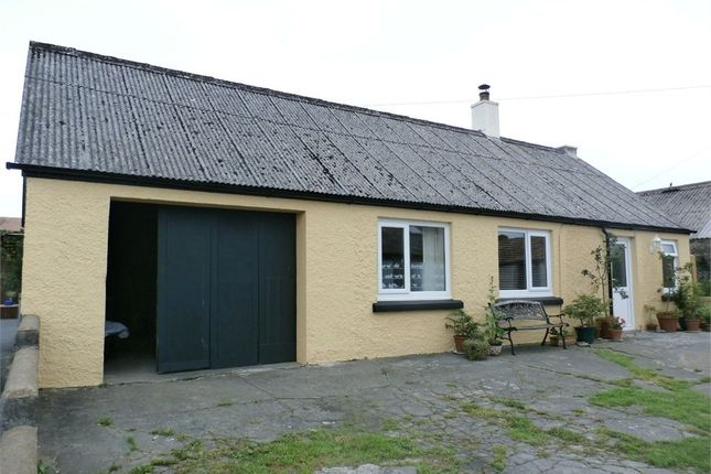 Thumbnail Detached bungalow for sale in Station Road, Tregaron, Ceredigion