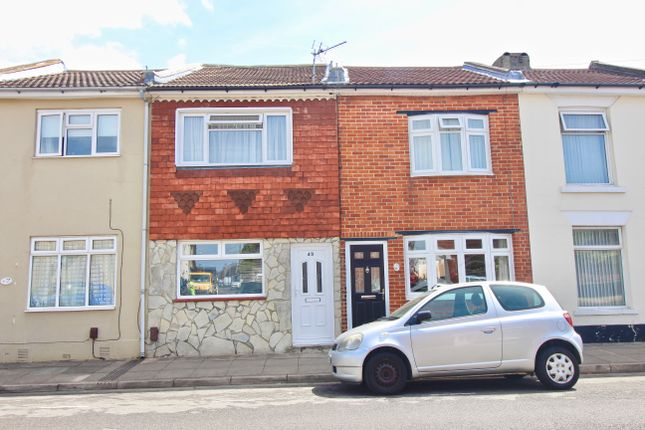 Thumbnail Terraced house to rent in Cuthbert Road, Portsmouth