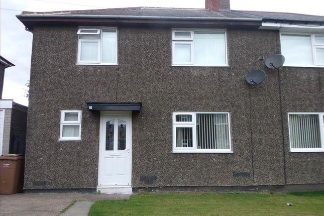 Thumbnail Semi-detached house to rent in Rosedene Villas, Cramlington