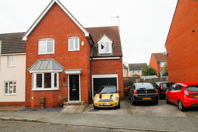 Detached house for sale in Cormorant Drive, Stowmarket