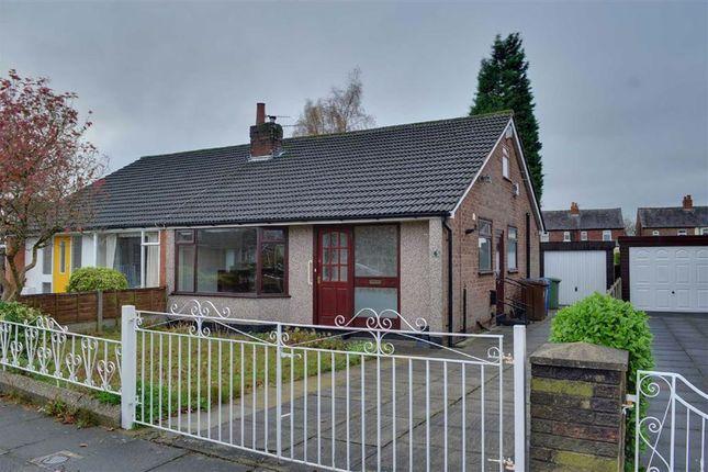 Thumbnail Semi-detached bungalow to rent in Calow Drive, Leigh, Lancashire
