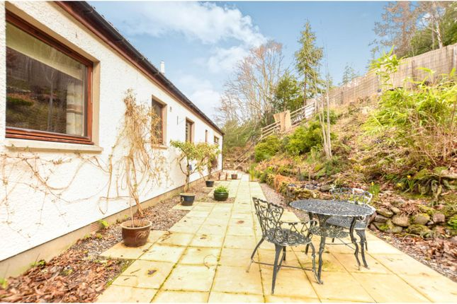 Rear Garden of Foyers, Inverness IV2