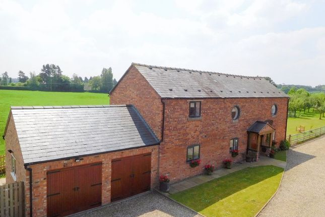 Thumbnail Detached house for sale in Off New Road, Pinsley Green, Wrenbury