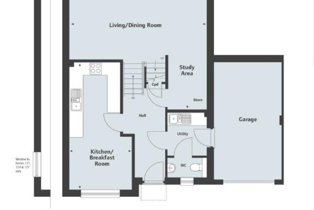 Thumbnail Property to rent in Saxon Way, Kingsgate, Kingsteignton