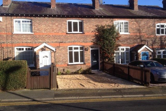 Thumbnail Terraced house to rent in Ladyfield Street, Wilmslow
