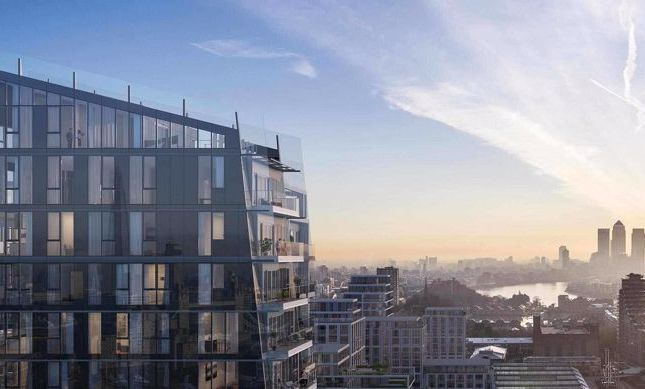 Thumbnail Flat for sale in Arrival Square, London