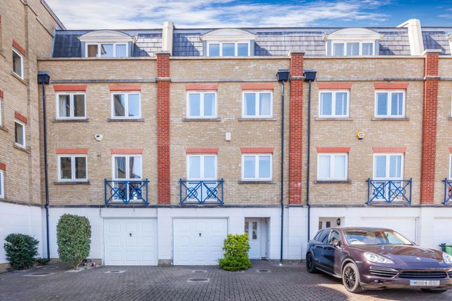 Thumbnail Terraced house to rent in The Piazza, Sovereign Harbour South, Eastbourne