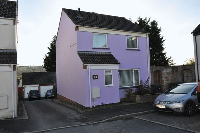 Thumbnail Detached house to rent in Woolbarn Lawn, Barnstaple
