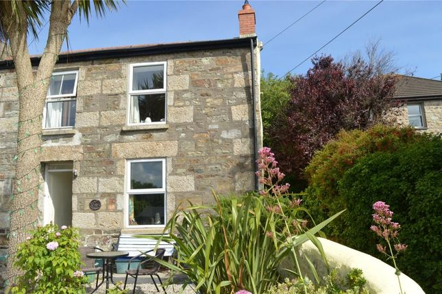 Thumbnail End terrace house to rent in Phillack Hill, Phillack, Hayle, Cornwall