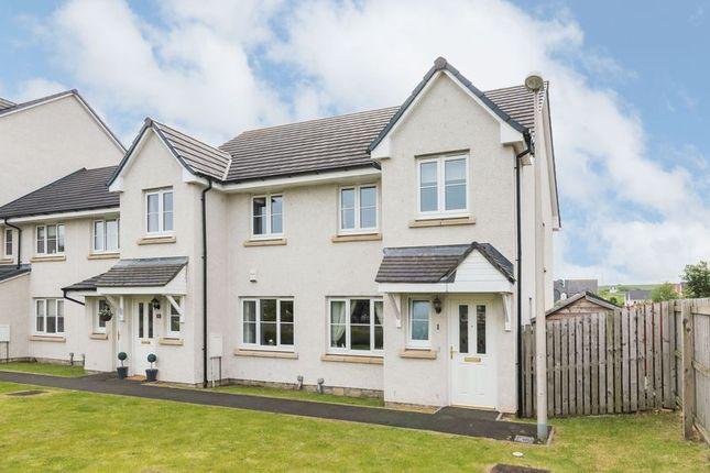 Thumbnail End terrace house for sale in 1 Dolphingstone View, Prestonpans, East Lothian