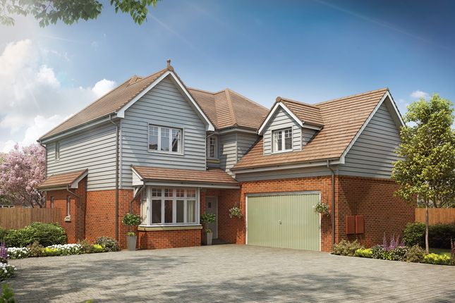 Thumbnail Detached house for sale in Petworth Road, Wisborough Green, West Sussex