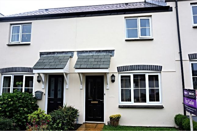 Thumbnail Terraced house for sale in Treclago View, Camelford